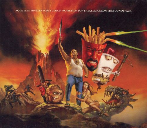Aqua Teen Hunger Force Colon Movie Film for Theaters Colon T