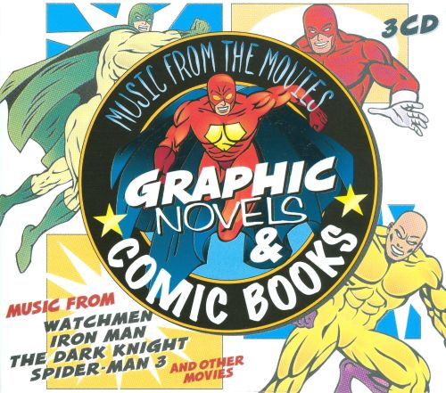 Music from the Movies: Graphic Novels & Comic Books