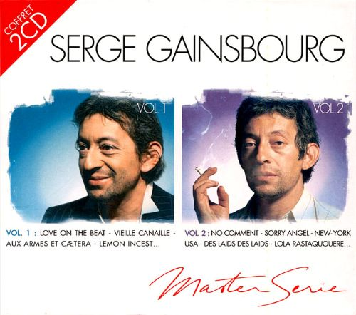 master series the best of serge gainsbourg serge gainsbourg songs reviews credits allmusic. Black Bedroom Furniture Sets. Home Design Ideas