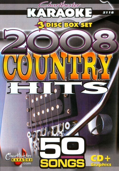 Karaoke: 2008 Country Hits