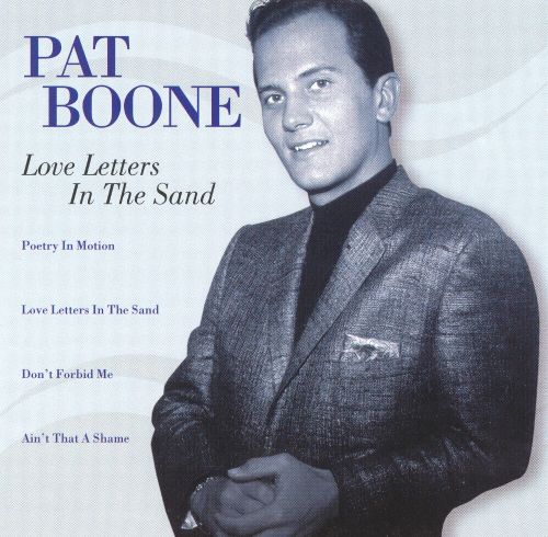 Date with pat boone four by pat tutti frutti love letters in the sand