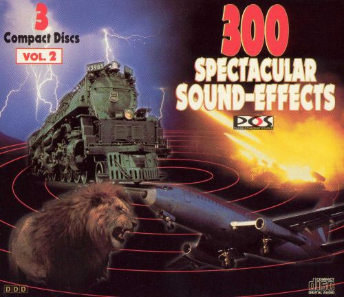 300 Spectacular Sound Effects, Vol. 2