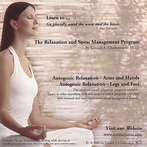 Relaxation and Stress Management Program: Autogenic Relaxation