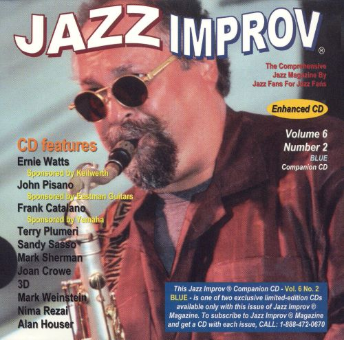 Jazz Improv Companion CD, Vol. 6 No. 2: Blue