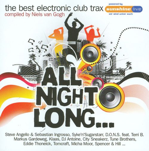 The Best Electronic Club Trax: All Night Long