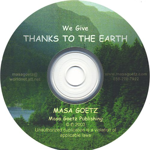 Thanks to the Earth