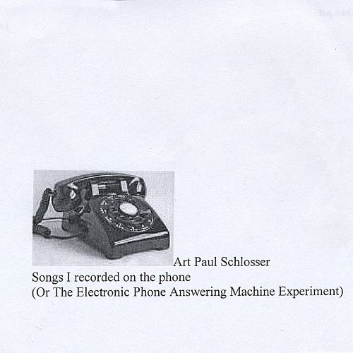 Songs I Recorded on the Telephone