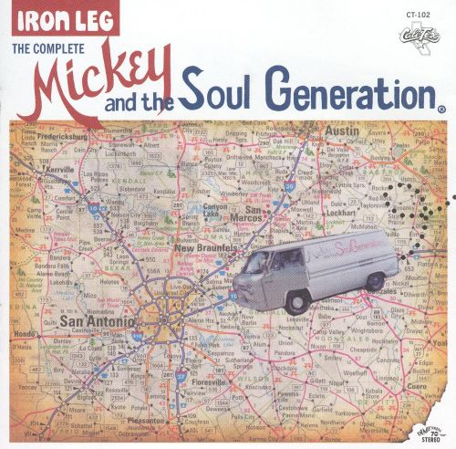 Iron Leg: The Complete Mickey and the Soul Generation