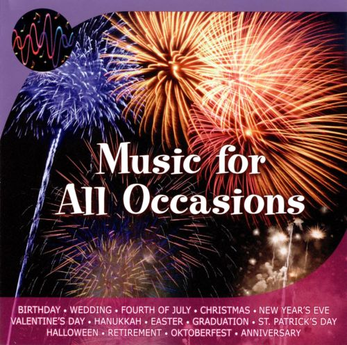 Music for All Occasions [Celebrations]