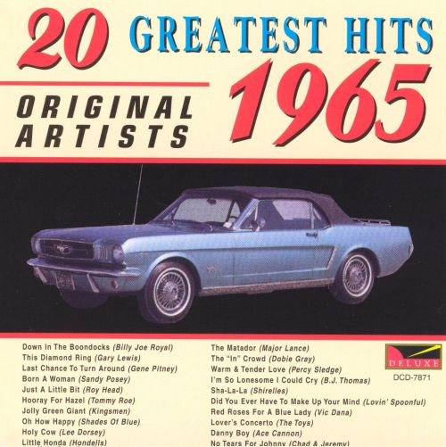 20 Greatest Hits 1965