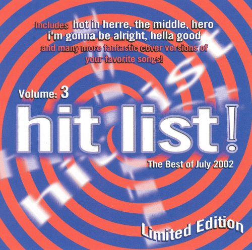 The Hit List!, Vol. 3: The Best of July 2002