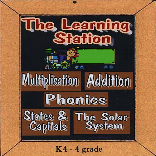 Learning Station: Multiplication, Addition, States & Capitals , Phonics & The Solar Sys