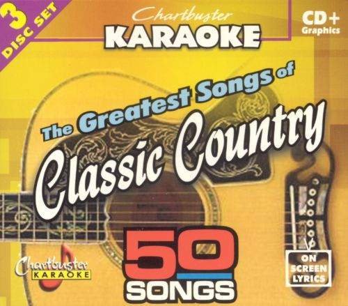 Chartbuster Karaoke: Greatest Songs of Classic Country
