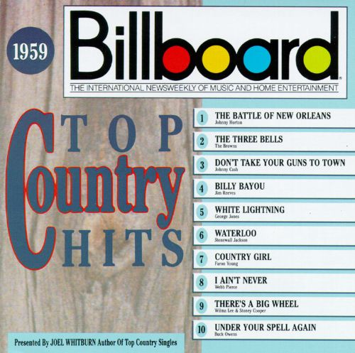 Billboard Top Country Hits: 1959