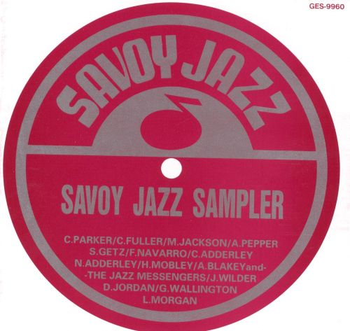 Savoy Jazz Sampler
