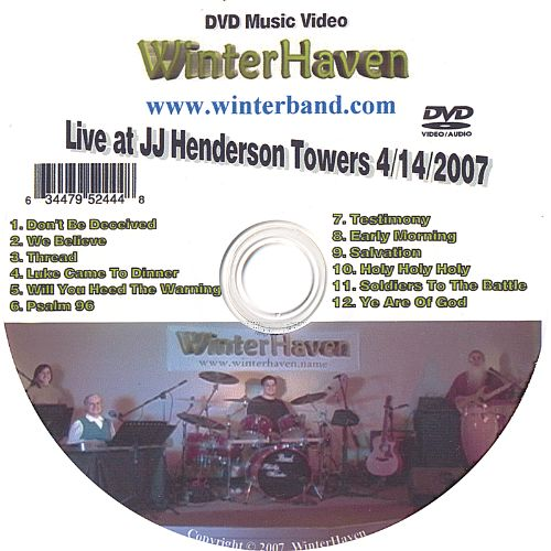 Live at JJ Henderson Towers 4/14/2007