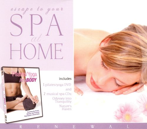 Escape to Your Spa at Home: Odyssey into Tranquility/Natun [CD/DVD]