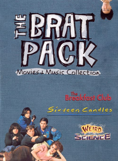 the brat pack  movies music collection  dvd  cd