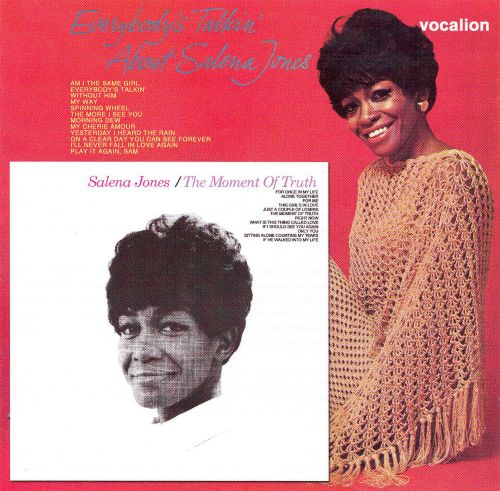 The Moment of Truth/Everybody's Talkin About Salena Jones