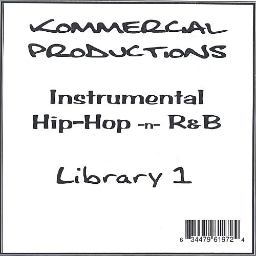 Kommercial Productions Instrumental Hip-Hop -N- R&B Library 1