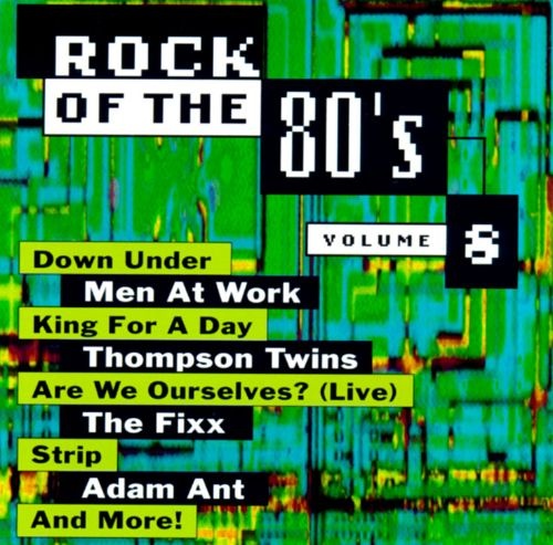 Rock of the 80's, Vol. 8