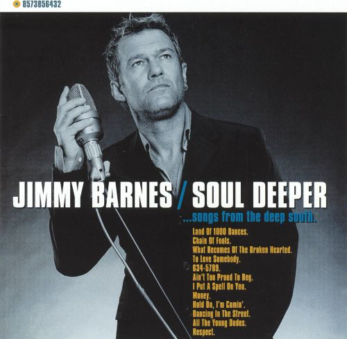 soul deeper songs from the deep south jimmy barnes