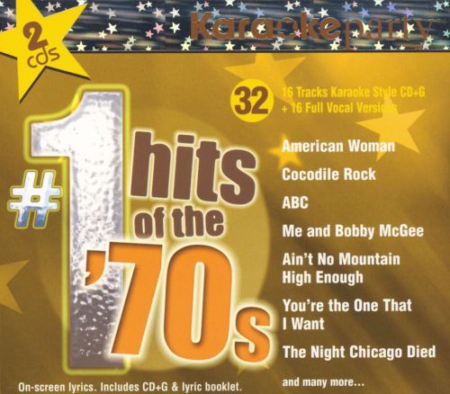 Karaoke Party: #1 Hits of the 70s