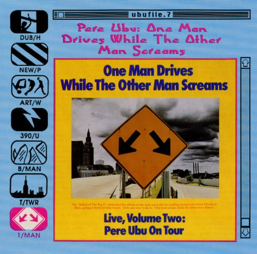 One Man Drives While the Other Man Screams
