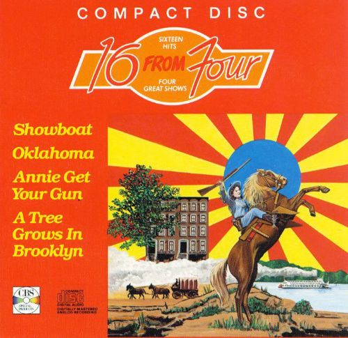 16 from Four Shows: Showboat/Oklahoma/Annie Get Your Gun/A Tree Grows in Brooklyn