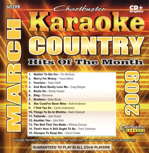 Country Hits of the Month March 2009
