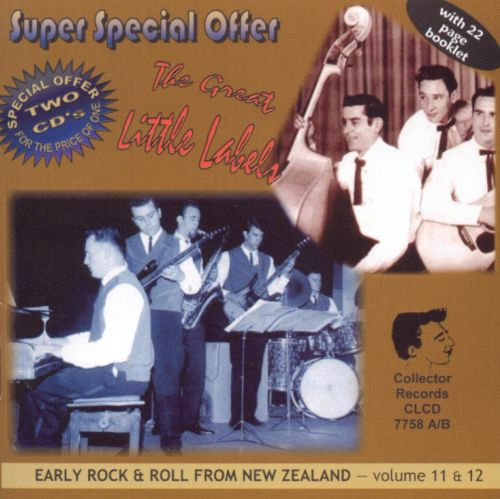 Early Rock from New Zealand, Vol. 11-12