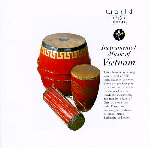 Vietnam: Instrumental Music of Vietnam
