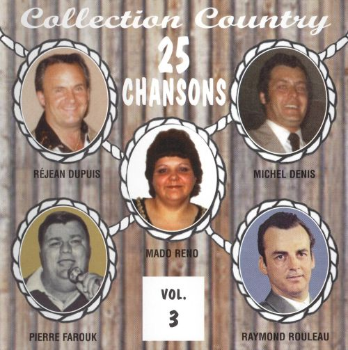 Collection Country: 25 Chansons, Vol. 3