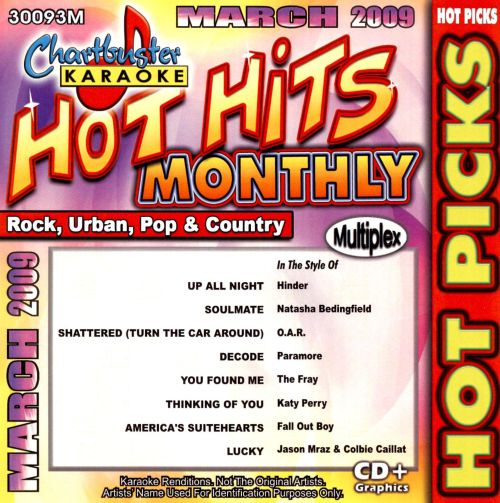 Hot Hits Monthly March 2009: Hot Picks