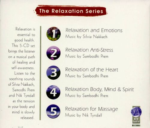Relaxation Body, Mind & Spirit [Box]