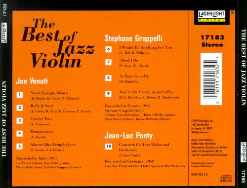The Best of Jazz Violin