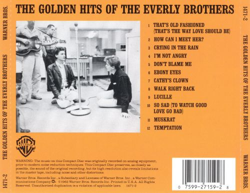 The Golden Hits of the Everly Brothers