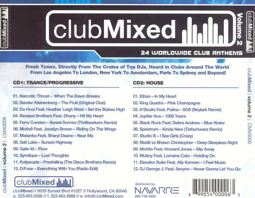 Clubmixed, Vol. 2