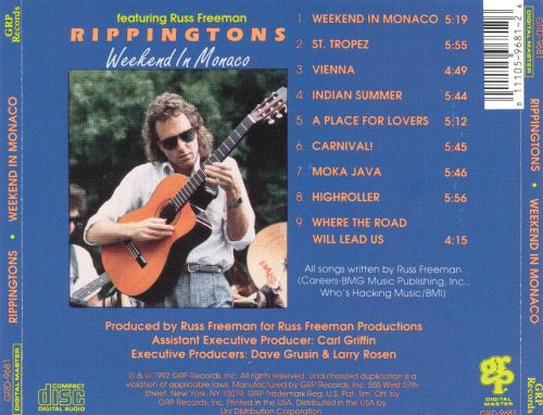 weekend in monaco the rippingtons songs reviews credits allmusic. Black Bedroom Furniture Sets. Home Design Ideas