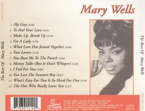 The Best of Mary Wells [Direct Source]