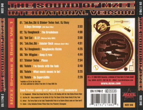 The Sound of Mzee, Vol. 1 [Mzee]