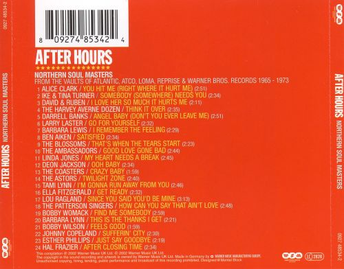 After Hours: Northern Soul Masters from the Vaults of Atlantic, Atco, Loma, Reprise
