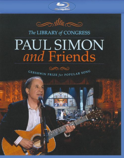 Paul Simon and Friends: The Library of Congress Gershwin Prize for Popular Song [DVD]