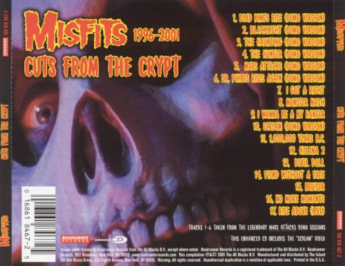 Cuts from the Crypt