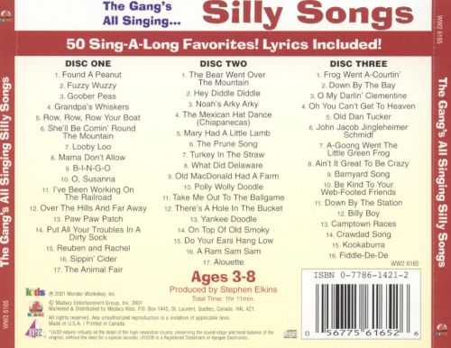 The Gang's All Singing: Silly Songs