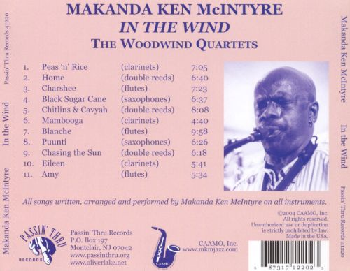 In the Wind: The Woodwind Quartets