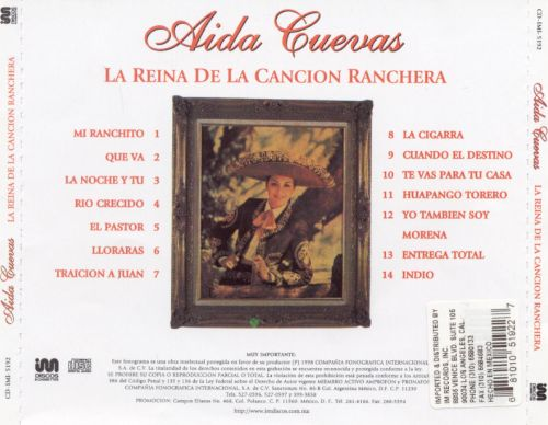 La Reina de la Cancion Ranchera