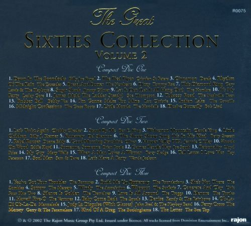 Great 60s Collection, Vol. 2
