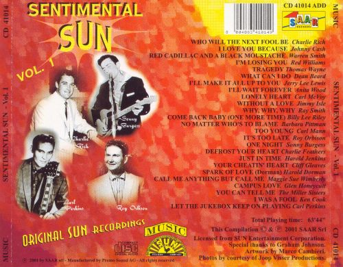 Sentimental Sun, Vol. 1