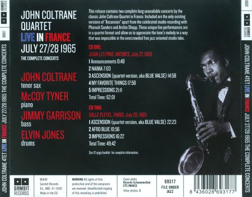 The Complete Concerts: Live in France July 27 & 28, 1965